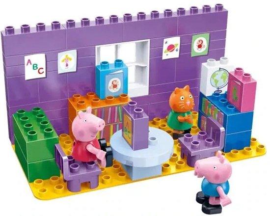 Peppa Pig bibliotheek – Inclusief 3 poppetjes